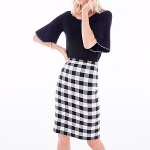 Ann Taylor Gingham Skirt
